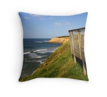Coastline at Jan Juc Throw Pillow