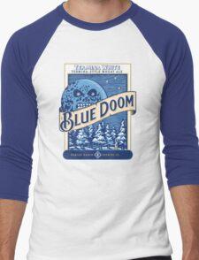 Blue Doom Men's Baseball ¾ T-Shirt