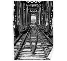 Franklin Ohio railway bridge 1  Poster