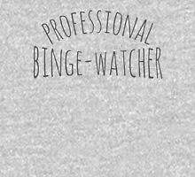 professional binge-watcher Women's Fitted Scoop T-Shirt
