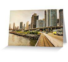 Urban Landscape Greeting Card
