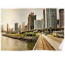 Urban Landscape Poster