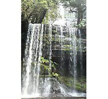 Russell Falls, Mount Field, Tasmania, Australia Photographic Print