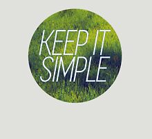 keep it simple Womens Fitted T-Shirt