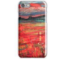 Untitled landscape iPhone Case/Skin
