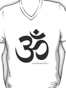 Buddhist Om Mantra Darkgrey T-Shirt