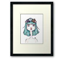 Time Queen Framed Print