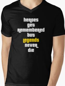 Heroes Get Remembered 2 Mens V-Neck T-Shirt