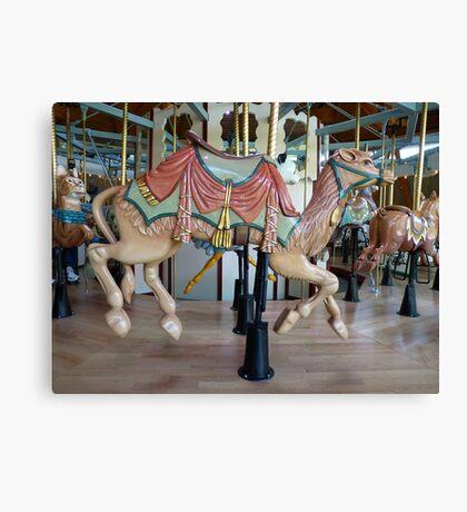 Carousel Camel - Butchart Canvas Print