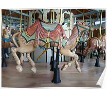 Carousel Camel - Butchart Poster