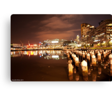 Melbourne Docklands Canvas Print