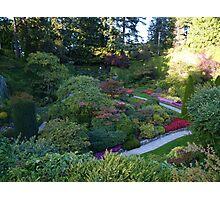Sunken Garden - Butchart Photographic Print