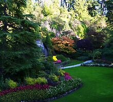 Sunken Garden too - Butchart by MischaC