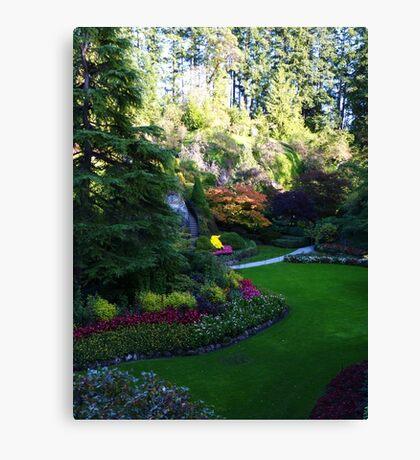 Sunken Garden too - Butchart Canvas Print