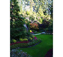 Sunken Garden too - Butchart Photographic Print
