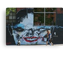 Brooklyn - Face by Anthony Lister Canvas Print