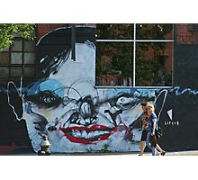 Brooklyn - Face by Anthony Lister Photographic Print