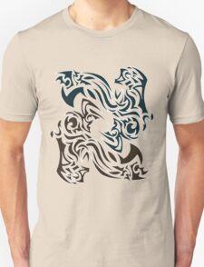 Twin Smoke Dragons Unisex T-Shirt