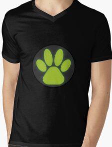 Cat Noir Logo Mens V-Neck T-Shirt
