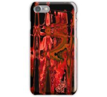 RED AND BLACK. iPhone Case/Skin