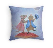 Dancing the Night Away Throw Pillow