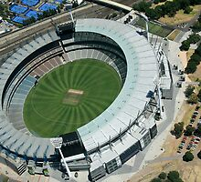 MCG Aerial by Russell Charters