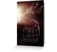 First Light Greeting Card