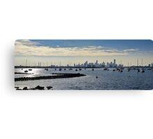 Williamstown Panorama Canvas Print
