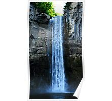 Large Water Fall Poster