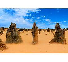 Pinnacles, WA Australia Photographic Print