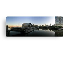 Melbourne Docklands Sunrise Canvas Print