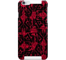 Red Arrowed Tribe Pattern iPhone Case/Skin