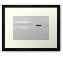 Grace at Anchor - Lytham St Annes, Lancs, UK Framed Print