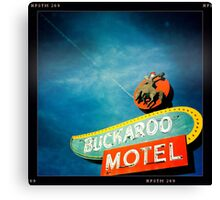 Buckaroo Motel Canvas Print