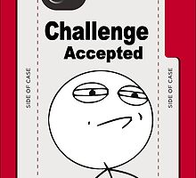 Challenge Accepted Face MEME by DamianL