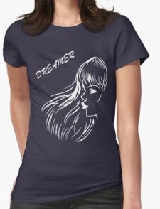 Dreamer Womens Fitted T-Shirt