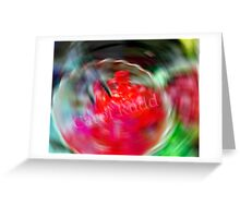 Swirling Jello Greeting Card