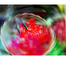 Swirling Jello Photographic Print