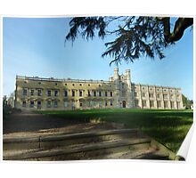 Ashton Court Mansion - near Bristol UK Poster