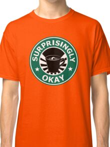 Sherlock's Coffee (Surprisingly Okay) Classic T-Shirt