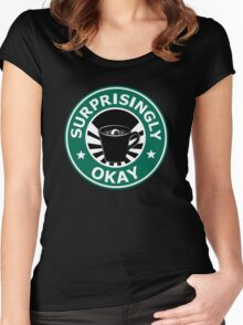 Sherlock's Coffee (Surprisingly Okay) Women's Fitted Scoop T-Shirt