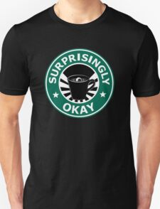 Sherlock's Coffee (Surprisingly Okay) Unisex T-Shirt