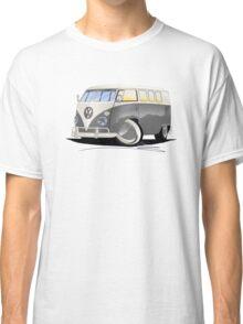 VW Splitty (11 Window) Grey Classic T-Shirt