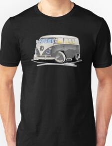 VW Splitty (11 Window) Grey Unisex T-Shirt