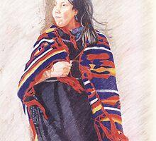 Navaho Girl by Karen Clark