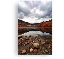 Peak Color - Basin Pond Canvas Print
