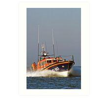 Wells Lifeboat Art Print