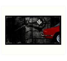 Alfa 2000 Art Print