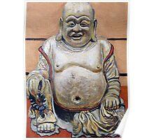 Happy Buddha Poster