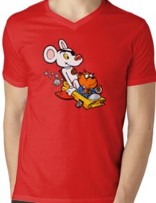 Ooer! Mens V-Neck T-Shirt